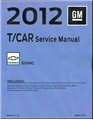 2012 Sonic Service Manual Set Gmp12T