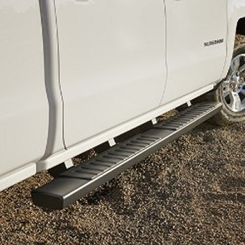 2014 Silverado 6 Inch Rectangular, Chrome Assist Steps 22805440