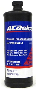 Manual Transmission Fluid SAE 75W-85 GL/4 88862472