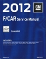 2012 Camaro Service Manual GMP12F