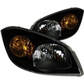 Anzo Crystal Headlights, Black ANZ12154