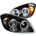 Cobalt Projector Headlights w/ Halo Chrome ANZ121344
