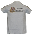 Tee Shirt Uncrate A Monster White CEDSWUC