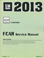 2013 Camaro Service Manual Gmp13F