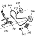LSJ, LNF Balance Shaft Chain Kit LSJLNFBCK