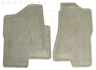 Floor Mats - Front Carpet Replacements 89040133