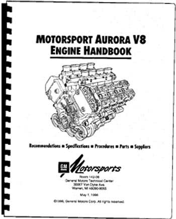 Motorsport Aurora V8 Engine Handbook 24502570