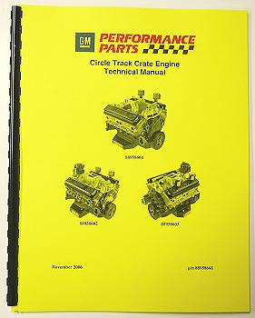 Circle Track Crate Engine Technical Manual 88958668