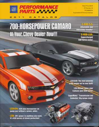 2011 GM Performance Parts Catalog # 88958754