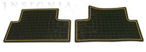 Floor Mats - Rear Premium All Weather 12499460