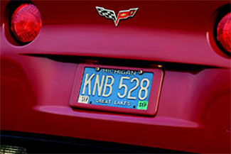 License Plate Holder - Rear 17800134