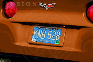 License Plate Holder - Rear 17803338
