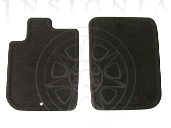 Floor Mats - Front Carpet Replacements 25836174