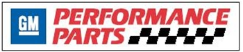 "Gm Performance Parts Decals, 24"" X 5"" (5 Qty) # 12365419"