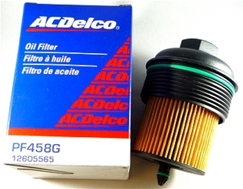Cobalt Oil Filter W/Cap 12605565