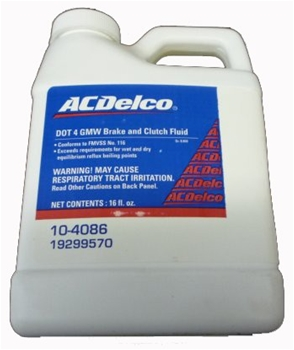 Brake And Clutch Fluid 19299570
