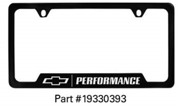 Performance Lic Frame 19330393