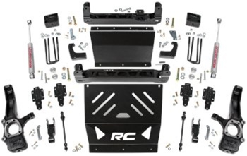 "Rough Country 4"" Lift Kit 15-18 Gas Models"