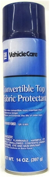 Convertible Top Fabric Protectant 88901980