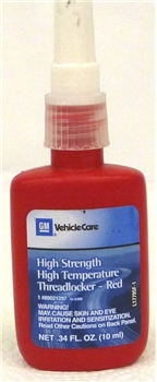 Gm Threadlocker Red 19332211