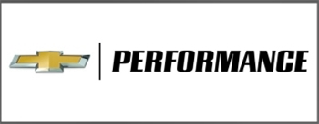 Chevrolet Performance 3' X 8' White Chevy Performance Banner