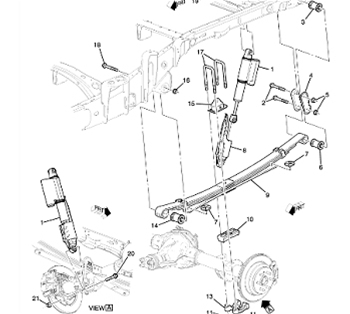 ZR2 Rear Suspension Package