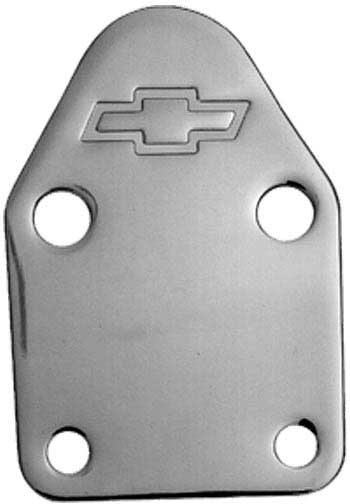 Small-Block Fuel Pump Block-Off Plate 12341998