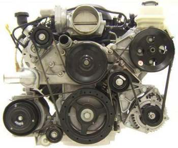 Accessory Drive (With Air) LS Series Engines 19155066