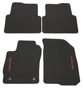 Premium Carpet Front And Rear Mat Pkg Black 95918875
