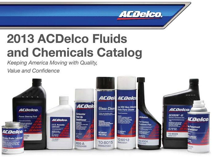 2013 AC Delco Chemical Catalog